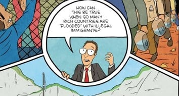 This Comic Book's Persuasive Case for Open Borders