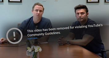 YouTube's Censorship of Dissenting Doctors Will Backfire