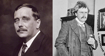 Americans Could Learn a Lot from the Friendship of H.G. Wells and G.K. Chesterton