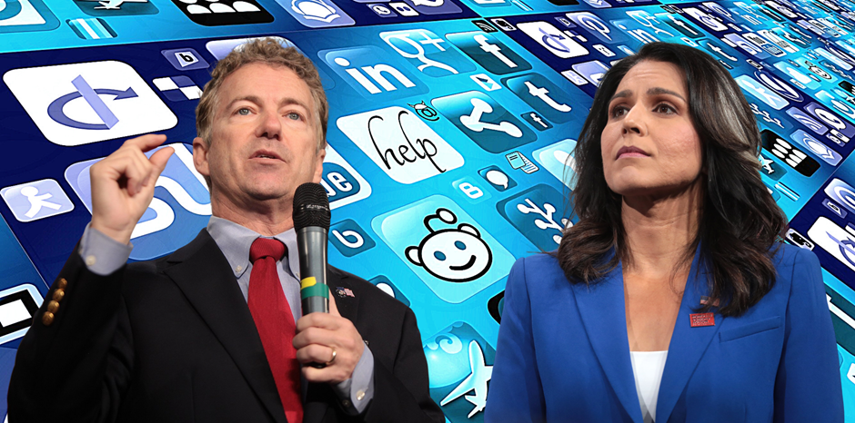Rand Paul and Tulsi Gabbard Team up to Unplug the President's 'Internet Kill Switch' | Brad Polumbo