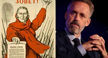 Why Jordan Peterson's Home Is Decorated With Soviet Propaganda Art